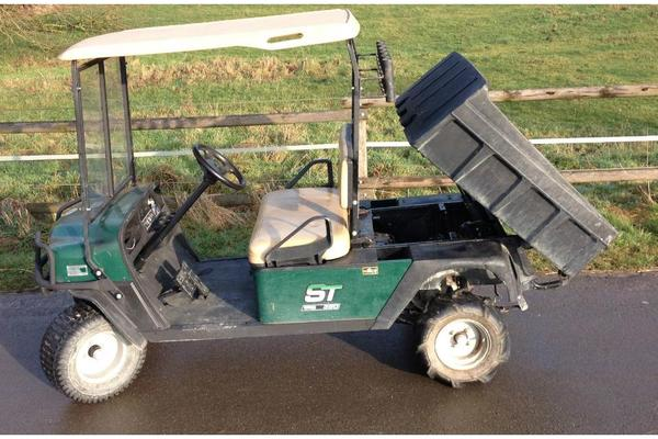 ez go st350 workhorse golfwagen clubwagen pickup gartenwagen kipper in kaarst golfsport kaufen. Black Bedroom Furniture Sets. Home Design Ideas