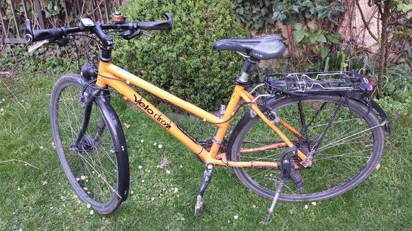 fahrrad damen trecking orange in karlsruhe damen fahrr der kaufen und verkaufen ber private. Black Bedroom Furniture Sets. Home Design Ideas