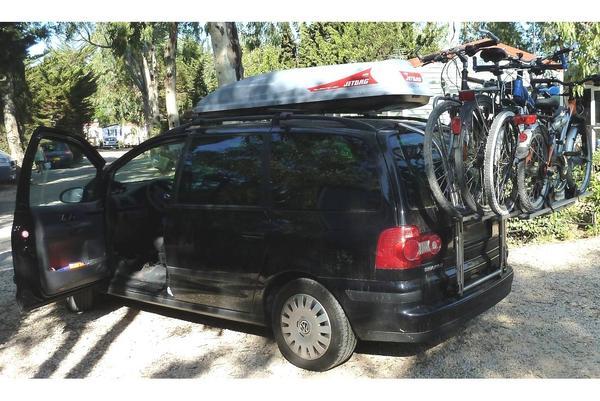 fahrradhecktr ger atera linea 3 f r 4 fahrr der vw sharan. Black Bedroom Furniture Sets. Home Design Ideas