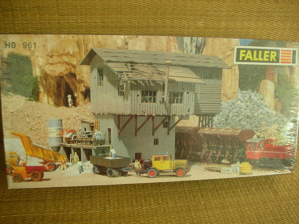 faller 961 130961 altes schotterwerk neu ovp in berlin modelleisenbahnen kaufen und. Black Bedroom Furniture Sets. Home Design Ideas
