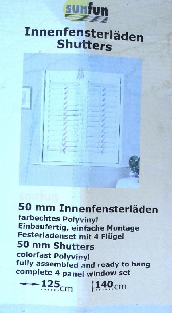 fensterl den f r innen weiss neu b 110 x h 140 cm in dornbirn fenster roll den markisen. Black Bedroom Furniture Sets. Home Design Ideas