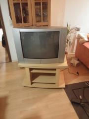 Fernseher + Tv-Schrank +