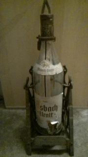 Flaschenhalter schmiedeisern