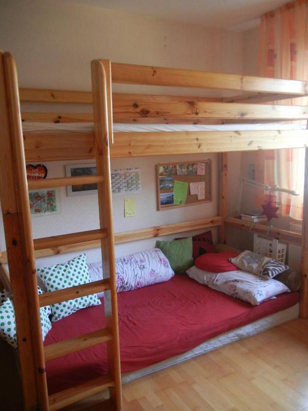 hochbett kiefer neu und gebraucht kaufen bei. Black Bedroom Furniture Sets. Home Design Ideas