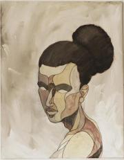 Frauenporträt von MN