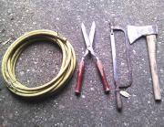 Gartengeräte Werkzeug Bauwerkzeug