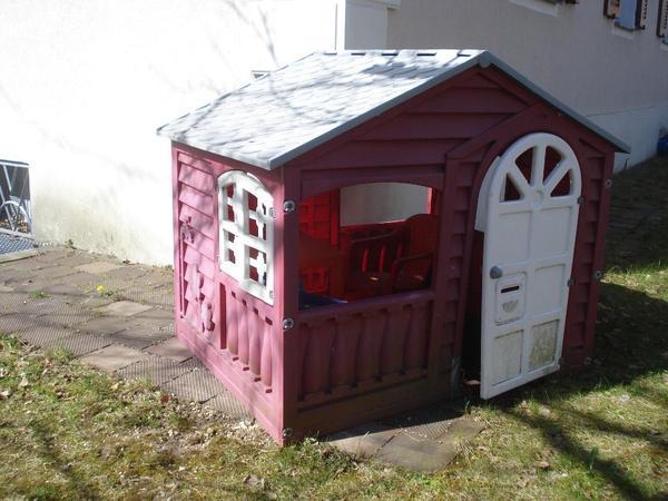 gartenh uschen spielhaus in garching sonstiges kinderspielzeug kaufen und verkaufen ber. Black Bedroom Furniture Sets. Home Design Ideas