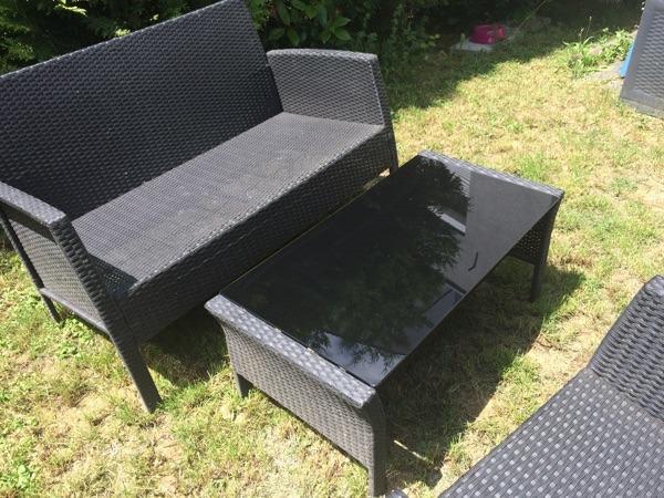 garten set neu und gebraucht kaufen bei. Black Bedroom Furniture Sets. Home Design Ideas