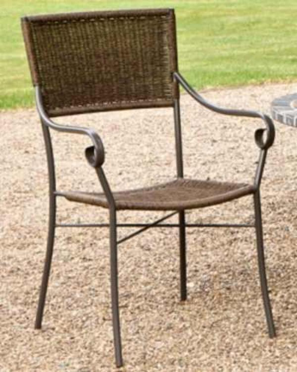 gartenstuhl stapelstuhl korbsessel gartensessel korbm bel in lampertheim gartenm bel. Black Bedroom Furniture Sets. Home Design Ideas