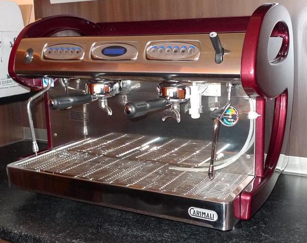 gastro kaffeemaschine carimali e9 2 in f rth gastronomie ladeneinrichtung kaufen und. Black Bedroom Furniture Sets. Home Design Ideas