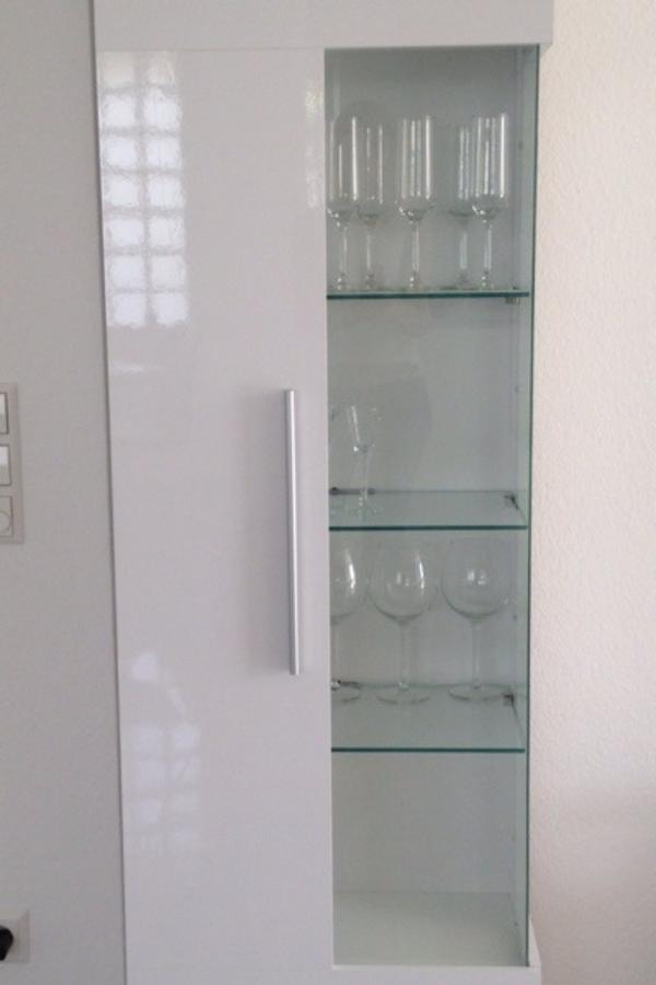 wohnzimmerschränke weiß:wohnzimmerschränke weiß hochglanz : Glasvitrine Hochglanz weiß