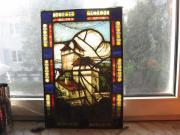 Glaswandbild