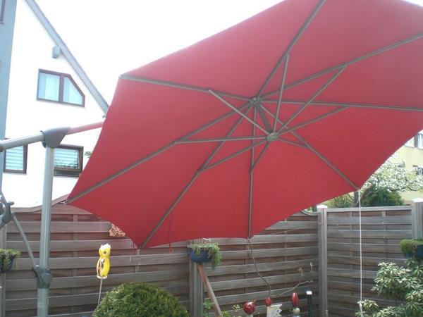 glatz sunwing c ampelschirm in weil der stadt sonstiges f r den garten balkon terrasse. Black Bedroom Furniture Sets. Home Design Ideas