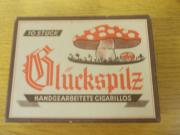 Glückspilz, Cigarilloschachtel