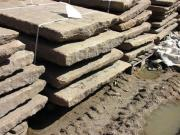 Granitplatten, alte Granitplatten,