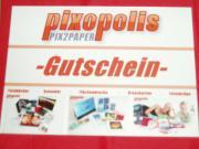 Gutschein 50EUR Pixopolis