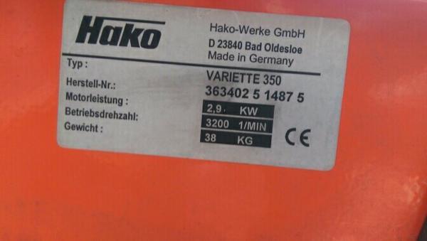 hako variette kaufen gebraucht und g nstig. Black Bedroom Furniture Sets. Home Design Ideas
