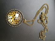 Halskette gold mit