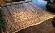 Handgeknüpfter Teppich Wolle