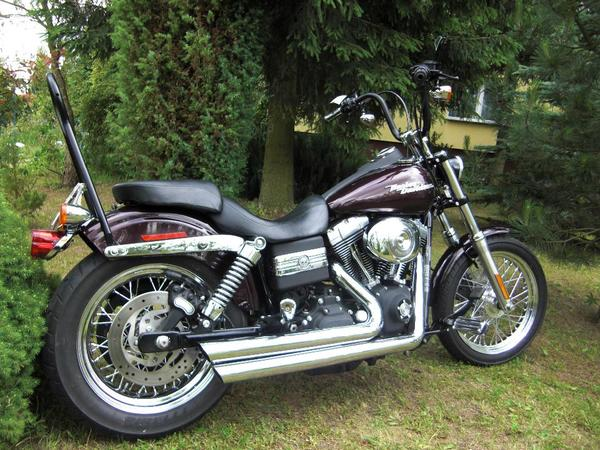 harley davidson dayna street bobber 2006 top zustand. Black Bedroom Furniture Sets. Home Design Ideas
