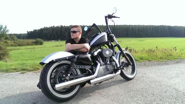 harley davidson sportster nightster 64 7 kw 12000 km. Black Bedroom Furniture Sets. Home Design Ideas