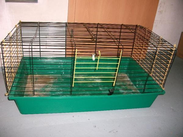 hasenstall kaninchenk fig f r drinnen in stuttgart zubeh r f r haustiere kaufen und. Black Bedroom Furniture Sets. Home Design Ideas