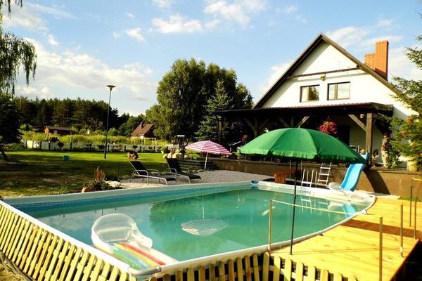 haus am see und wald mit pool in polen in swiecie 1. Black Bedroom Furniture Sets. Home Design Ideas