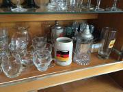 Haushaltsauflösung Gläser