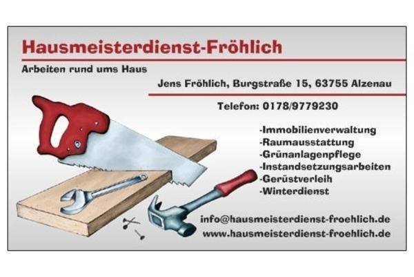 Hausmeister Hausmeisterdienst Fr Hlich In Alzenau