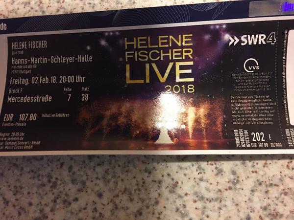 Helene Fischer Konzert » Eintrittskarten