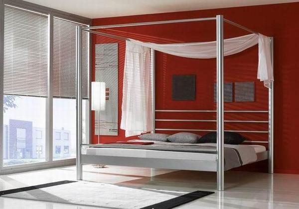 himmelbett lara metallbett 140x200 traumhaft vorh nge in esslingen betten kaufen und. Black Bedroom Furniture Sets. Home Design Ideas