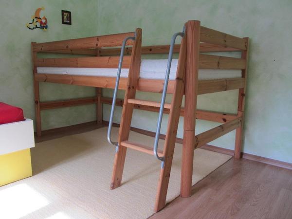 bett hochbett neu und gebraucht kaufen bei. Black Bedroom Furniture Sets. Home Design Ideas
