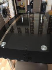HOCHWERTIGE GLAS - ESSTISCH /