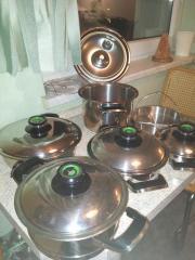 Hochwertige Kochtöpfe AMC