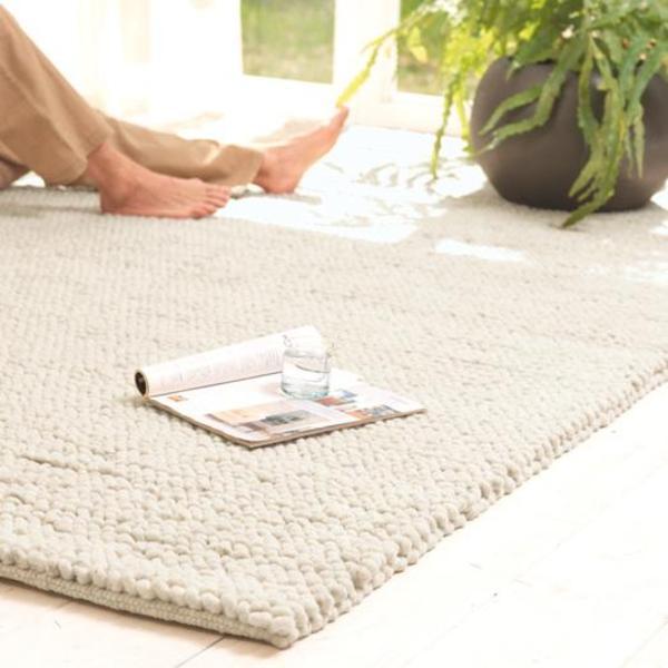 teppich aus schurwolle good moderner teppich uni wolle hanf calm with teppich aus schurwolle. Black Bedroom Furniture Sets. Home Design Ideas
