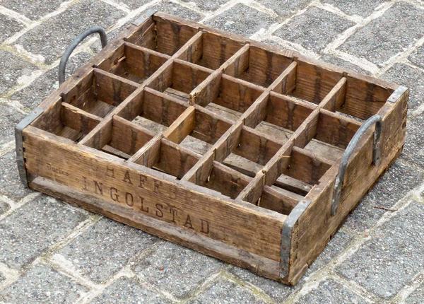 Alles Mögliche - Bierkasten Holz Schäffbräu Ingolstadt
