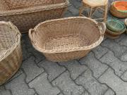 Holzkorb mit Henkel