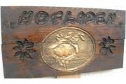 Holzschild - Ladenschild