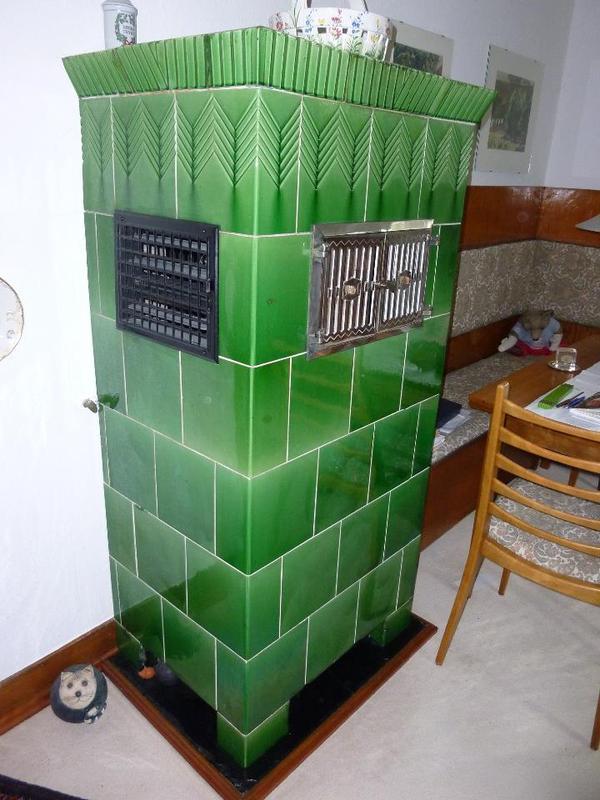h bscher kachelofen mit buderus gas brenneinsatz in. Black Bedroom Furniture Sets. Home Design Ideas