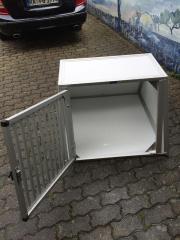wt metall hundebox tiermarkt tiere kaufen. Black Bedroom Furniture Sets. Home Design Ideas