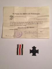 III. Reich Ehrenkreuz