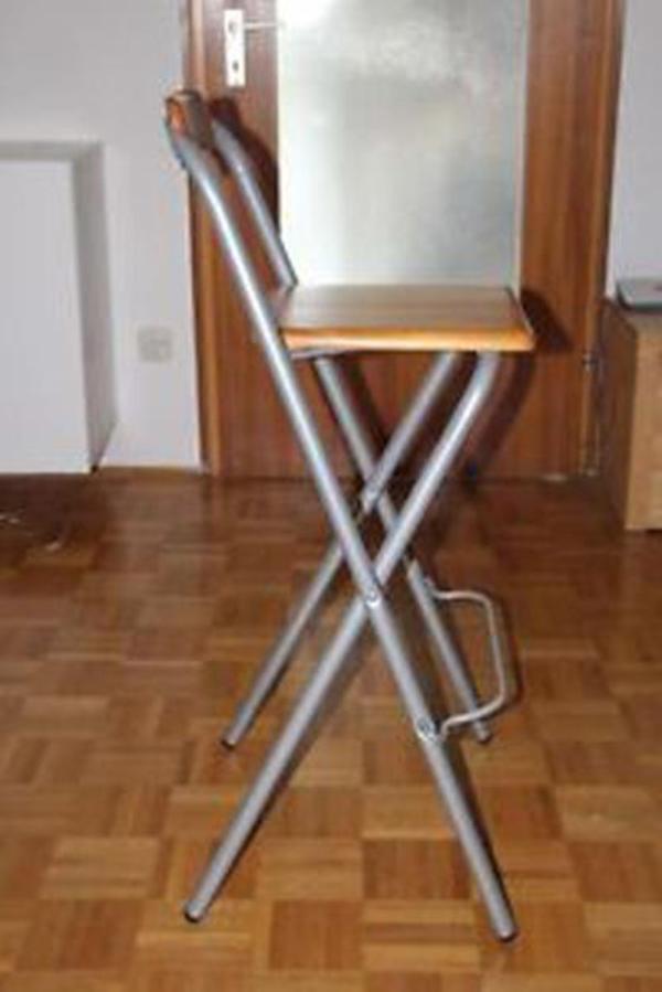 Ikea barhocker stabil und zusammenklappbar in m nchen for Barhocker quoka