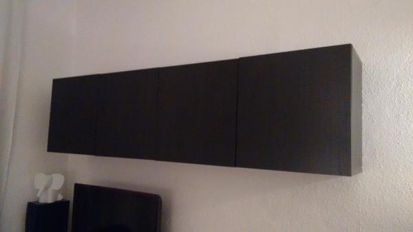 hangeschrank schwarz gebraucht kaufen nur 2 st bis 70 g nstiger. Black Bedroom Furniture Sets. Home Design Ideas