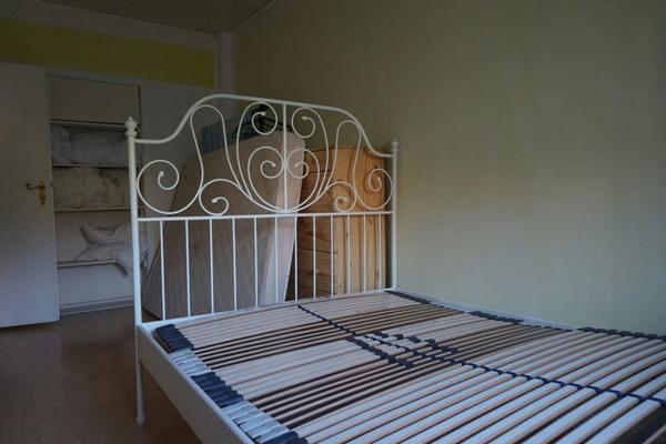 ikea bett medimed lattenrost in f rth betten kaufen und. Black Bedroom Furniture Sets. Home Design Ideas