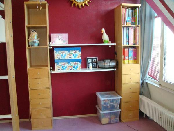 ikea bonde regal kombination echtholz birkenfunier schranksystem in berlin ikea m bel kaufen. Black Bedroom Furniture Sets. Home Design Ideas