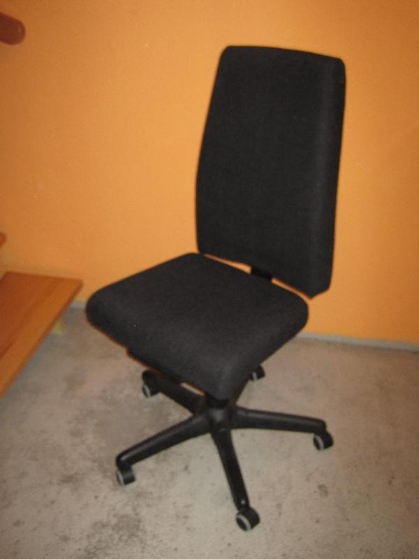 ikea b rostuhl operativ schwarz in 67227 frankenthal ikea m bel kaufen und verkaufen ber. Black Bedroom Furniture Sets. Home Design Ideas