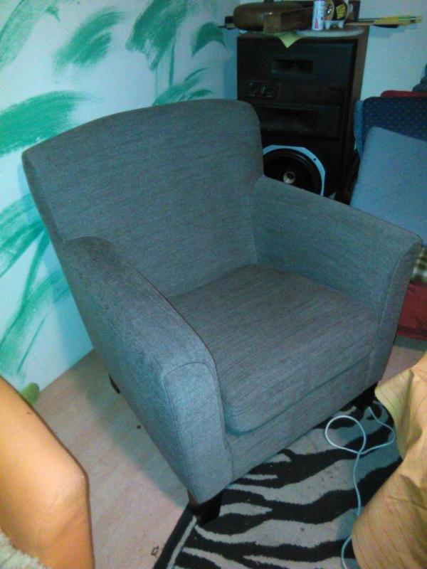 ikea eken s sessel dunkelbraun wie neu in f rth ikea. Black Bedroom Furniture Sets. Home Design Ideas
