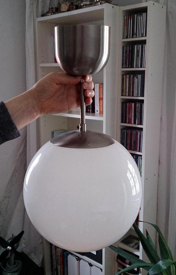 ikea fado h ngeleuchte kugellampe gebraucht guter. Black Bedroom Furniture Sets. Home Design Ideas