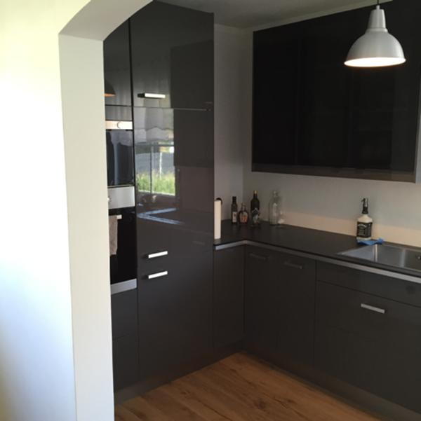 Schwarz Ikea Küche