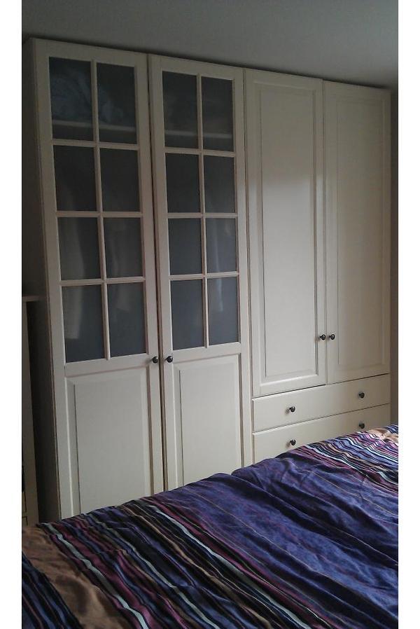kleiderschrank ikea pax birkeland. Black Bedroom Furniture Sets. Home Design Ideas